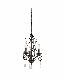 43446OZ Kichler Marcele Mini 3Lt Chandelier
