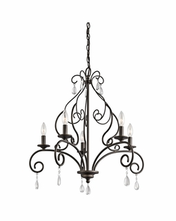 43448OZ Kichler Marcele 5Lt Chandelier 1 Tier Medium