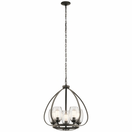 44060OZ Kichler Fixtures Lodge/Country/Rustic Olde Bronze Chandelier 5Lt