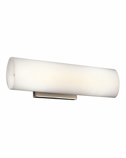 45126NI Kichler Ayana Linear Bath 15in Halogen Medium