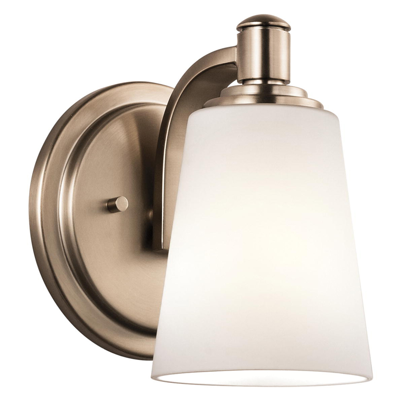 45453CLZ Kichler Quincy Wall Sconce 1Lt Bracket