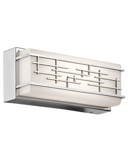 45828CHLED Kichler Contemporary Zolon Linear Bath 12in LED (chrome)