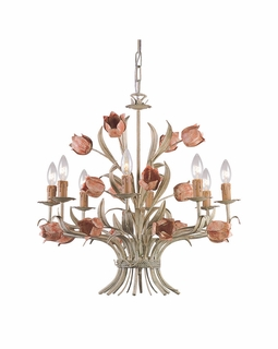 4808-SR Crystorama Southport 8 Light Chandelier I