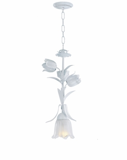 4821-WW Crystorama Southport 1 Light Wet White Pendant