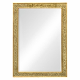 492203-GEG Jonathan Charles Buckingham Rectangular Mirror With Eglomise Gilt Borders