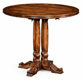 "492238-36D-WAL Jonathan Charles Country Farmhouse 36"" French Round Country Dining Table"