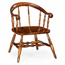 492346 Jonathan Charles Special Order Bow Back Windsor Country Chair (Arm)