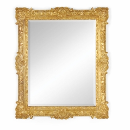 493059-GIL Jonathan Charles Versailles French 19Th Century Style Bright Gilded Mirror