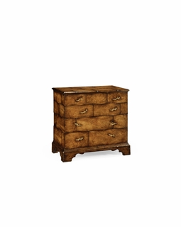 493407 Jonathan Charles Country Farmhouse Rustic Chest of Four Drawers Heavy Distress