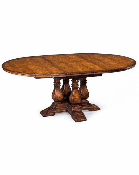 493466 jonathan charles special order country walnut round
