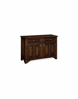 "493560 Jonathan Charles Special Order ""Tudorbethan"" Side Cabinet"