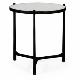 494140-B-GES JC Modern Lux Aglomise & Bronze Iron Lamp Table (Large)