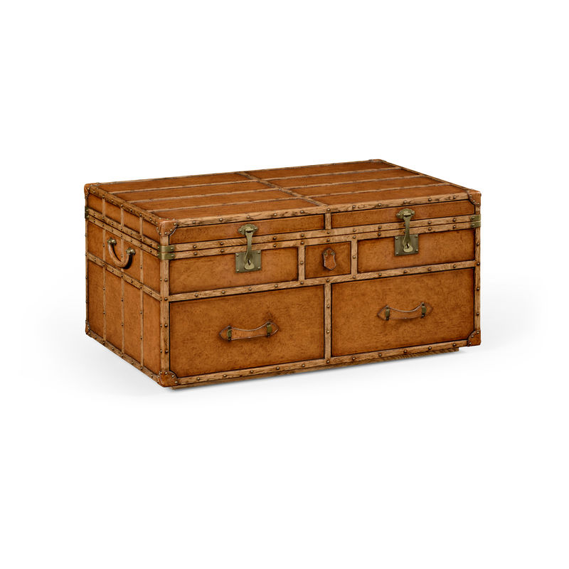 494473 L002 Jc Edited Voyager Travel Trunk Style Coffee Table
