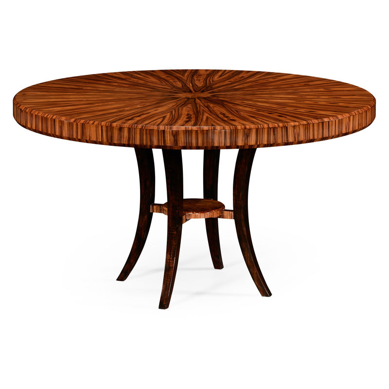 494574 54d Sah Jonathan Charles Contemporary Modern Jc Santos Collection 54 Art Deco High Re Round Dining Table