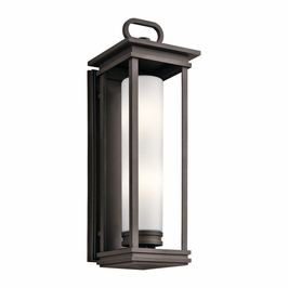 49499RZ Kichler Fixtures Transitional Rubbed Bronze Outdoor Wall 2Lt
