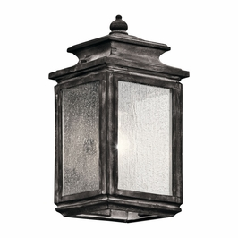 49501WZC Kichler Fixtures Traditional Weathered Zinc Outdoor Wall 1Lt