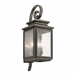 49503OZ Kichler Fixtures Traditional Olde Bronze Outdoor Wall 4Lt