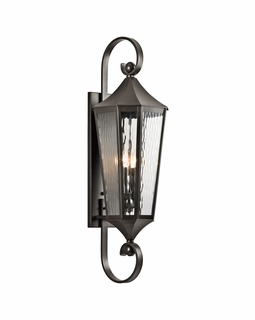 49514OZ Kichler Fixtures Traditional Olde Bronze Outdoor Wall 4Lt