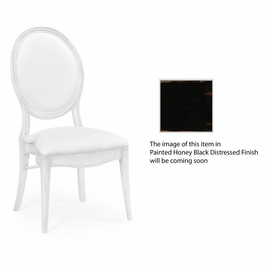 495380-PHB-F001 Jonathan Charles Buckingham Spoon Back Upholstered Stacking Dining Chair