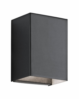 49550BKTLED Kichler Fixtures Contemporary Textured Black Indoor/Outdoor Wall 1Lt LED
