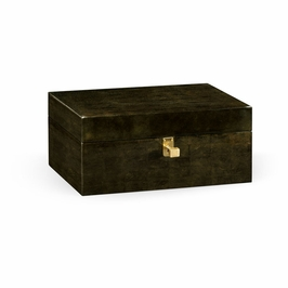 495529-MGF JC Modern Indochine Dark Bronze Rectangular Box