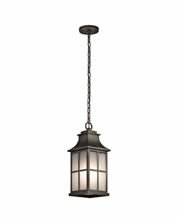49582OZ Kichler Traditional Pallerton Way Outdoor Pendant 1Lt (olde bronze)
