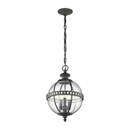 49603LD Kichler Traditional Halleron Outdoor Pendant 3Lt - Londonderry