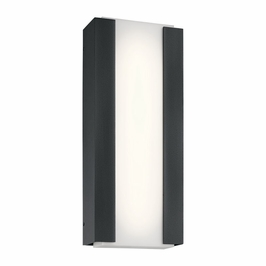 49799BKTLED Kichler Fixtures Contemporary Textured Black Outdoor Wall LED