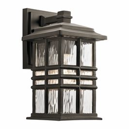 49829OZ Kichler Fixtures Arts and Crafts/Mission Olde Bronze Outdoor Wall 1Lt