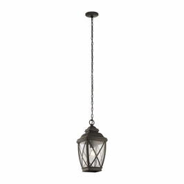 49844OZ Kichler Fixtures Lodge/Country/Rustic Olde Bronze Outdoor Pendant 1Lt