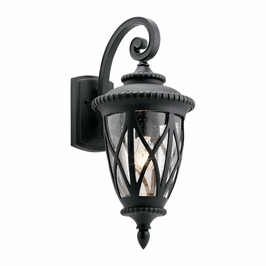 49848BKT Kichler Traditional Admirals Cove Outdoor Wall 1Lt - Textured Black