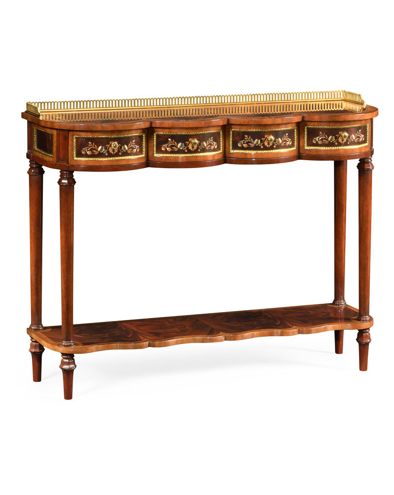 499503 mam mop jonathan charles regency mahogany console table 499503 mam mop jonathan charles regency mahogany console table with mother of pearl marquetry geotapseo Image collections