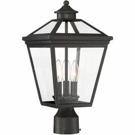 5-147-13 Savoy House Traditional Ellijay Post Lantern in English Bronze