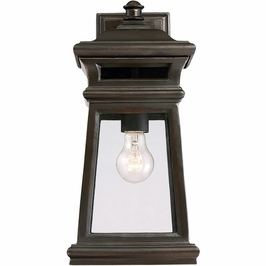 5-241-213 Savoy House Transitional Sierra Wall Lantern in English Bronze w/ Gold