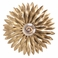 Crystorama Broche 1 Light Antique Gold Sconce