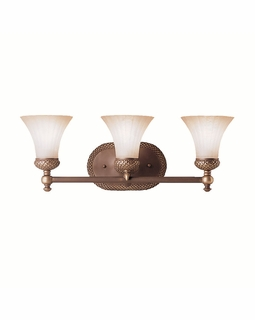 5112OLZ Kichler Lighting Humboldt Wall Mounted Bath Fixture in Oiled Bronze (DISCONTINUED ITEM!)
