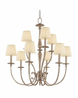 5219 Hudson Valley Classic Heritage (9) Light Jefferson Chandelier