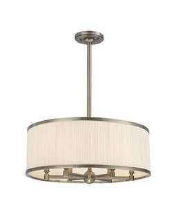 5224 Hudson Valley Timeless Elegance (6) Light Hastings Chandelier