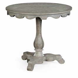 530020-GYO Jonathan Charles Traditional William Yeoward Collected - Country House Chic Overbury Grey Oak Table