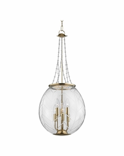 5315 Hudson Valley Pierce 15 inch (6) Light Pendant in Aged Brass or Polished Nickel