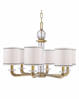 5326 Hudson Valley Timeless Elegance (6) Light Rock Hill Chandelier