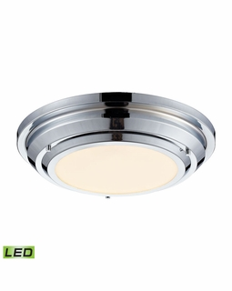 57010/LED Elk Sonoma 23 Watt LED Flushmount In Polished Chrome