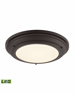 57021/LED Elk Sonoma 31 Watt LED Flushmount In Oil Rubbed Bronze
