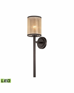 57023/1-LED Transitional Diffusion 1 Light LED Wall Sconce In Oil Rubbed Bronze