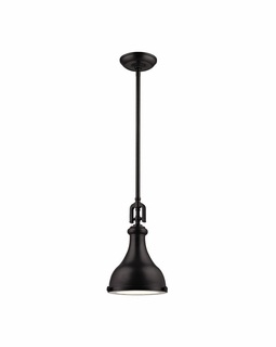 57060/1 Elk Restoration Rutherford 1 Light Pendant In Oil Rubbed Bronze