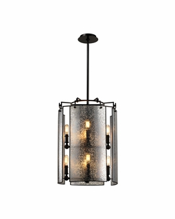 57092/4+4 Elk Modern Lindhurst 8 Light Chandelier In Oil Rubbed Bronze