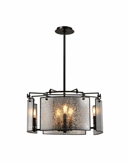 57094/8 Elk Modern Lindhurst 8 Light Pendant In Oil Rubbed Bronze