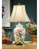 5826 Wildwood Lamps Glorious Flowers Lamp with Hand Painted Kutani Porcelain