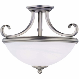 6-5789-2-69 Savoy House Mission Willoughby Semi Flush in Pewter