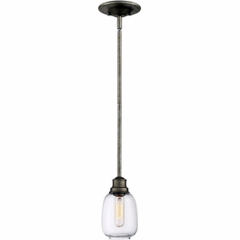 7-4332-1-27 Savoy House Transitional Orsay  Mini Pendant in Industrial Steel